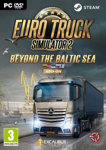 Euro Truck Simulator 2: Pobaltí PC
