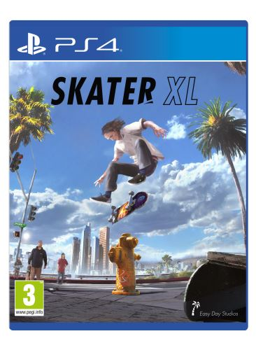 Skater XL - The Ultimate Skateboarding Game PS4