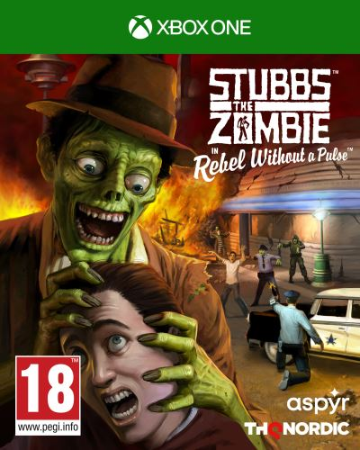 Stubbs the Zombie in Rebel Without a Pulse XBOX ONE