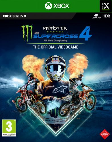 Monster Energy Supercross 4 XBOX SERIES X