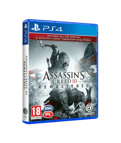 Assassin's Creed 3 + Liberation Remastered PS4