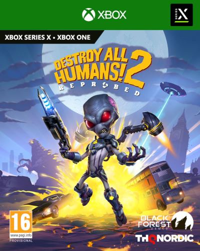 Destroy All Humans! 2 - Reprobed XBOX SERIES X