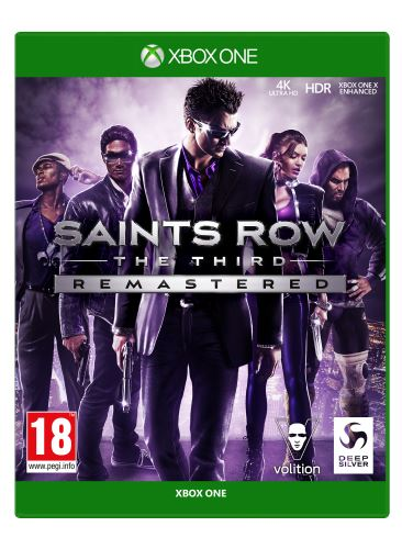 Saints Row: The Third - Remastered XBOX ONE