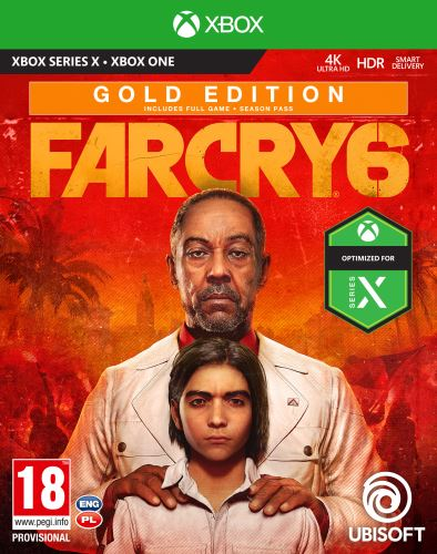 FAR CRY 6 GOLD Edition XBOX SERIES X / XBOX ONE