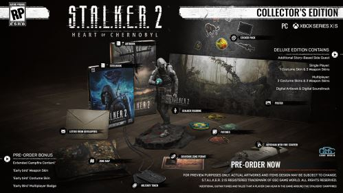 S.T.A.L.K.E.R. 2: Heart of Chernobyl Collector's Edition XBOX SERIES X