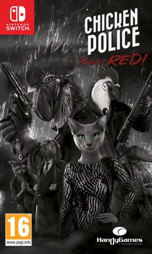 Chicken Police: Paint it red! SWITCH