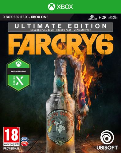 FAR CRY 6 ULTIMATE Edition XBOX SERIES X / XBOX ONE