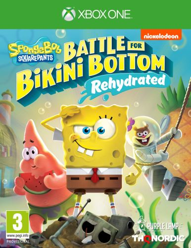 Spongebob SquarePants: Battle for Bikini Bottom - Rehydrated XBOX ONE