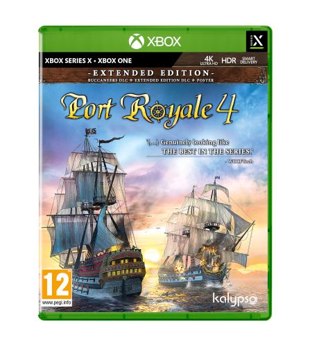 Port Royale 4 Extended Edition XBOX SERIES X / XBOX ONE