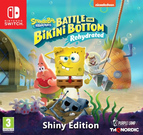 Spongebob SquarePants: Battle for Bikini Bottom - Rehydrated Shiny Edition SWITCH