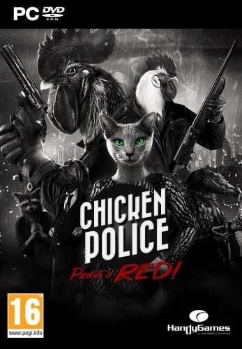 Chicken Police: Paint it red! PC