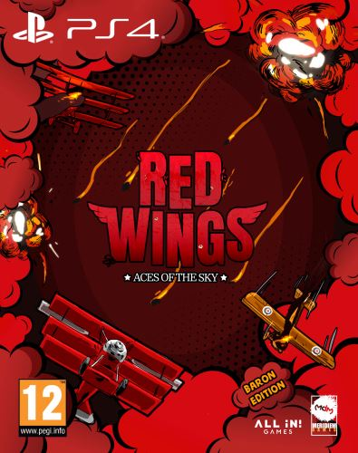 Red Wings: Aces of the Sky Baron Edition PS4